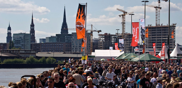 Hamburg Harley Days at the Hamburg Grossmarkt